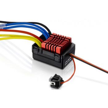 Регулятор коллекторный HOBBYWING QUICRUN WP-880 DUAL 80A для автомоделей
