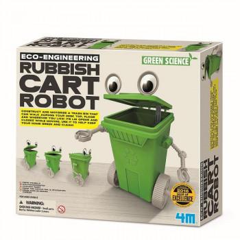 Набор для творчества Робот-мусорный бак
