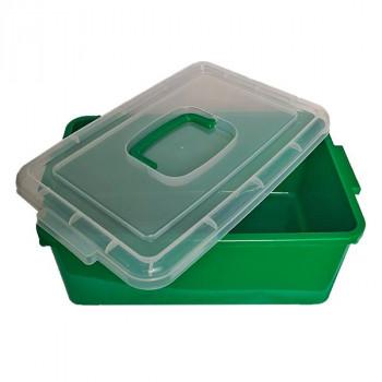 Контейнер пластиковый большой зеленый