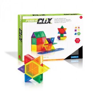 Конструктор PowerClix Solids, 70 деталей