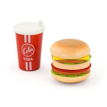 """Игровой набор """"Гамбургер и кола"""""""