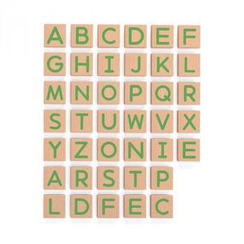 Набор Магнитные буквы Заглавные 40 шт.