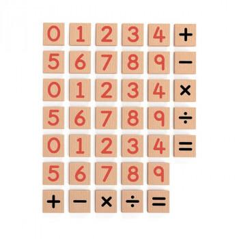 Набор Магнитные цифры и знаки 40 шт.