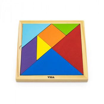 Набор для обучения Viga Toys Танграм