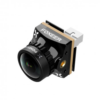 Foxeer Razer Nano 1/3 CMOS 1.8mm Lens 1200TVL PAL 16: 9 - Чорний