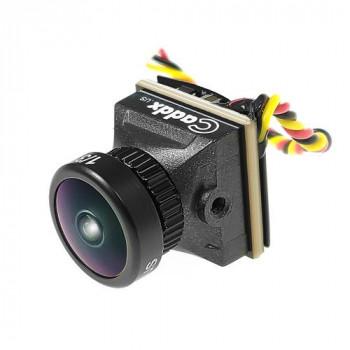 Caddx Turbo EOS2 1200TVL 2.1mm CMOS 16:9 PAL Mini FPV Camera - Чорний
