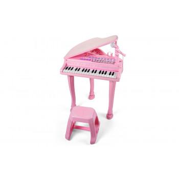 """Детское пианино синтезатор Baoli """"Маленький музикант"""" с микрофоном и..."""