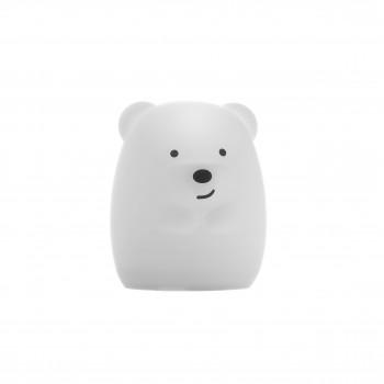 Ночник детский мини Click Медвежонок силиконовый (7 см.)
