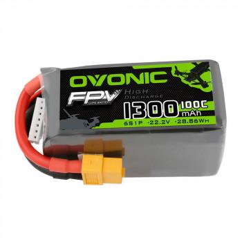 Ovonic Li-Pol 1300mAh 6S 22.2V 100C