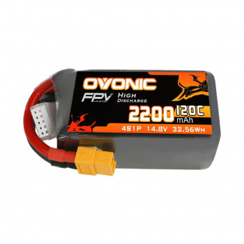 Ovonic Li-Pol 2200mAh 4S 14.8V 120C