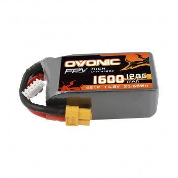 Ovonic Li-Pol 1600mAh 4S 14.8V 120C
