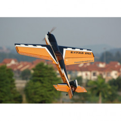 Самолет Precision Aerobatics Extra MX 1472мм KIT (желтый)