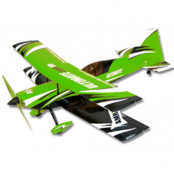 Самолет Precision Aerobatics Ultimate AMR 1014мм KIT (зеленый)