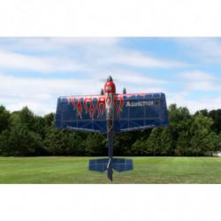 Самолет Precision Aerobatics Addiction X 1270мм KIT (синий)