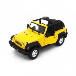 Машинка р/у 1:14 Meizhi Jeep Wrangler (желтый)