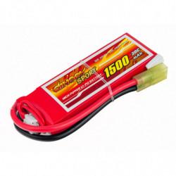 Аккумулятор Dinogy Li-Pol 1500mAh 7.4V 2S 30C 14x30x90мм Mini Tamiya