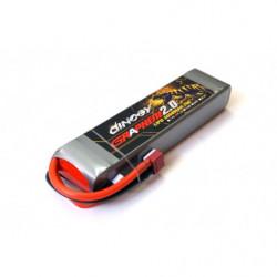 Аккумулятор Dinogy G2.0 Li-Pol 5000mAh 11.1V 3S 70C 29x48x165мм T-Plug
