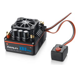 Сенсорный регулятор хода HOBBYWING XERUN XR8 Plus 150A 2-6S для автомоделей