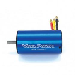 Двигатель Sensorless Brushless Motor 11T 3665KV3000-5.0 Shaft Banana Plug...