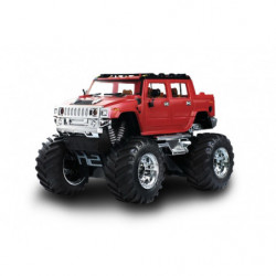 Джип микро р/у 1:43 Hummer (красный)