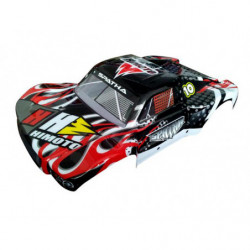 31410 1:10 Short Course Car Body Black 1P