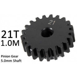Team Magic M1.0 21T Pinion Gear for 5mm Shaft