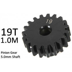 Team Magic M1.0 19T Pinion Gear for 5mm Shaft