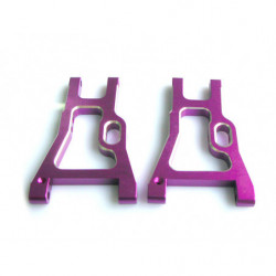 (02160) Purple Alum Rear Lower Arm 2P