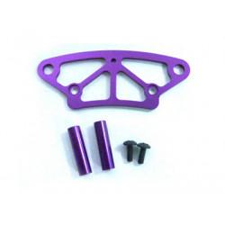 Purple Alum Front Bumper Upper Plate 1P