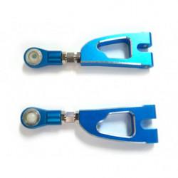 (08070) Blue Alum Rear Upper Arm 2P