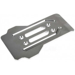 Team Magic CNC Machined Stainless Chassis Guard Front