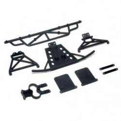 Бамперы передний и задний LC Racing 1/14 для EMB-SC, EMB-WRC, EMB-DT, EMB-TG...