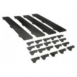 Завихрители PA XR-52 карбоновые комплект 20шт