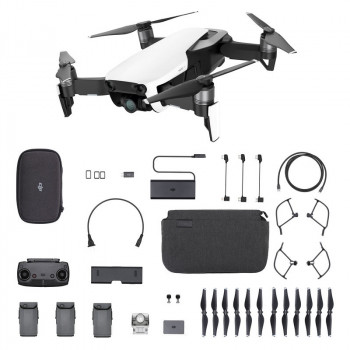 Квадрокоптер DJI Mavic Air Fly More Combo Белый