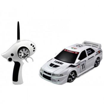 Автомодель 1:28 Firelap IW02M-A Mitsubishi EVO 2WD (белый)