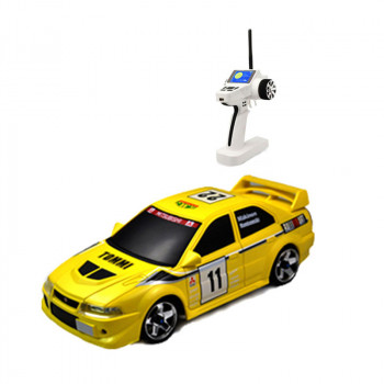 Автомодель 1:28 Firelap IW04M Mitsubishi EVO 4WD (желтый)