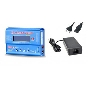 Зарядное устройство iMAX B6 6A/60W Build Power + БП