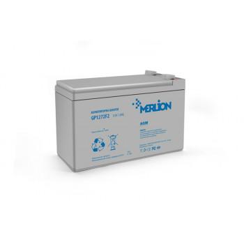 Аккумуляторная батарея MERLION AGM GP1272F2 12V 7,2 Ah