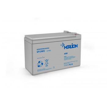 Аккумуляторная батарея MERLION AGM GP1290F2 12V 9Ah