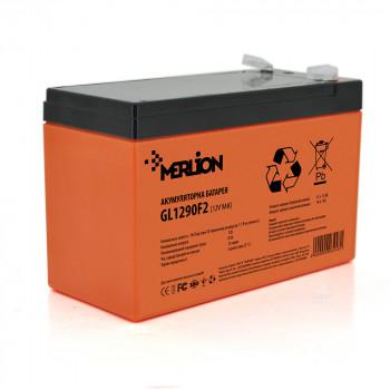 Аккумуляторная батарея MERLION GL1290F2 12 V 9 Ah  Orange
