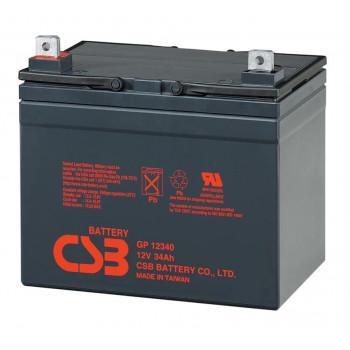Аккумуляторная батарея CSB GP12340, 12V 34Ah